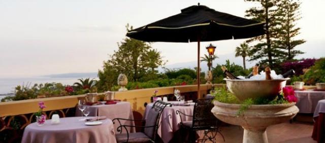 Terrazza in hotel 5 stelle Taormina