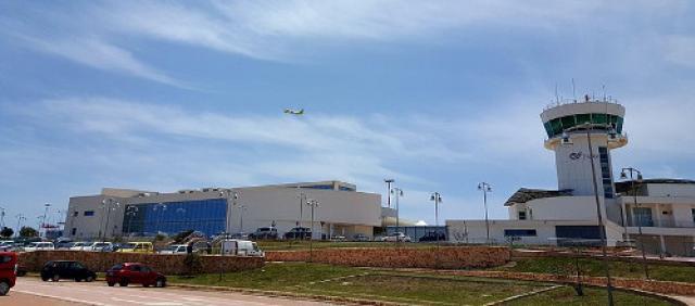 Aeroporto di Lampedusa - Esterno