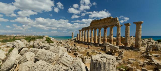 Selinunte - Tempio sull'Acropoli