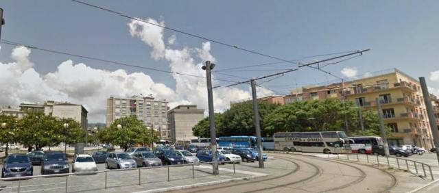 Piazza della stazione di Messina