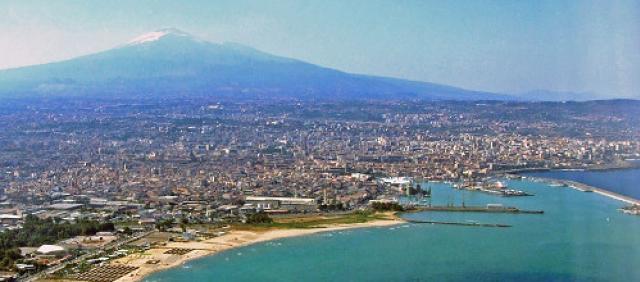 Porto di Catania - Vista dall'alto - Golfo